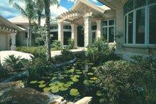 Architectural House Design - Mediterranean Exterior - Front Elevation Plan #930-101