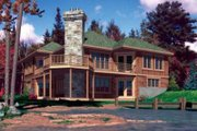 Traditional Style House Plan - 3 Beds 2 Baths 2222 Sq/Ft Plan #138-103