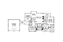 Craftsman Floor Plan - Main Floor Plan Plan #929-902