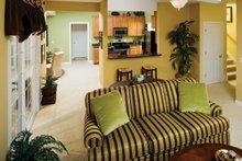 House Plan Design - Classical Interior - Family Room Plan #929-679