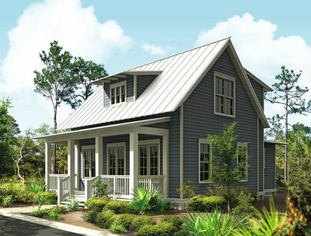 cottage style house plan 3 beds 2 5 baths 1687 sq ft plan 443 11 rh houseplans com beach homes house plans beach cottage house plans with photos