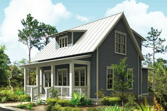 Cottage Plan 443-11 front elevation