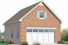 Dream House Plan - Exterior - Front Elevation Plan #23-2454