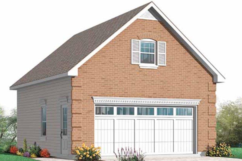 Exterior - Front Elevation Plan #23-2454