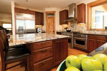Contemporary Interior - Kitchen Plan #1042-16