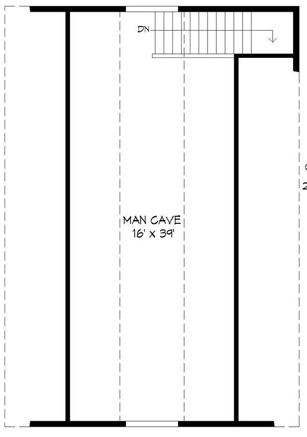 Dream House Plan - Country Floor Plan - Upper Floor Plan #932-130