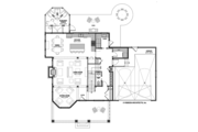 Traditional Style House Plan - 3 Beds 3.5 Baths 2895 Sq/Ft Plan #928-299 Floor Plan - Main Floor Plan