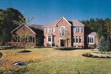 Colonial Exterior - Front Elevation Plan #46-610
