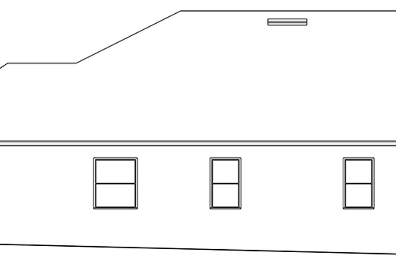Ranch Exterior - Other Elevation Plan #1058-144 - Houseplans.com