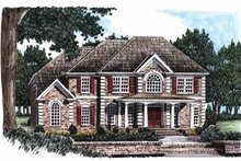 House Plan Design - Colonial Exterior - Front Elevation Plan #927-490