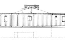 Contemporary Exterior - Front Elevation Plan #47-666