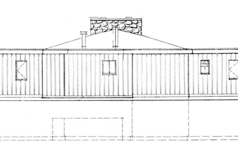 Contemporary Exterior - Front Elevation Plan #47-666 - Houseplans.com