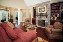 Craftsman Interior - Family Room Plan #929-313