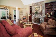 Architectural House Design - Craftsman Interior - Family Room Plan #929-313