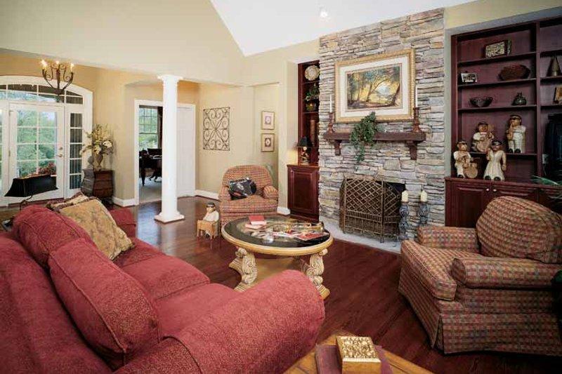 Craftsman Interior - Family Room Plan #929-313 - Houseplans.com