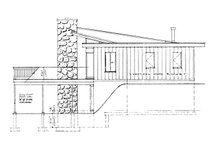 Architectural House Design - Contemporary Exterior - Other Elevation Plan #47-666