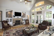 Dream House Plan - Craftsman Interior - Family Room Plan #929-14