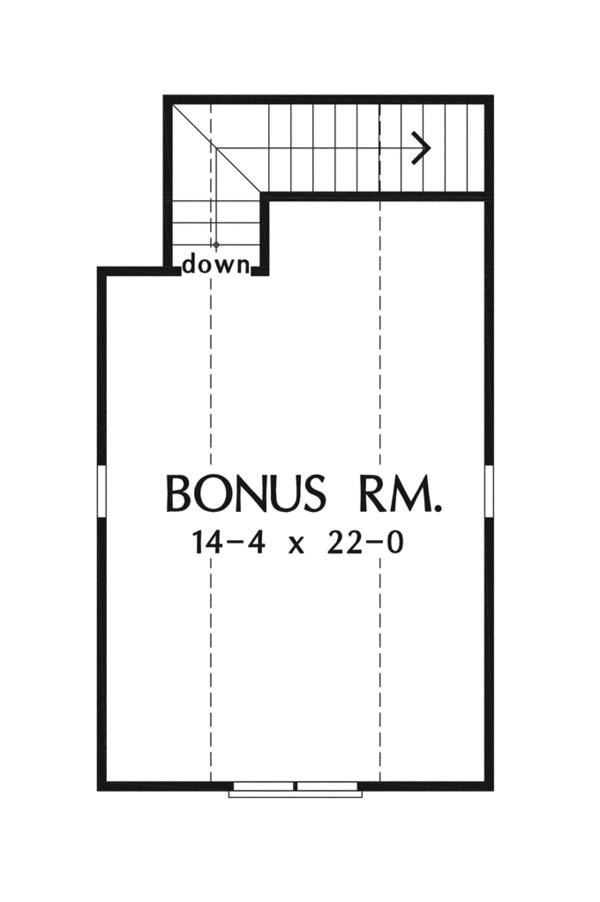 Craftsman Floor Plan - Other Floor Plan Plan #929-946