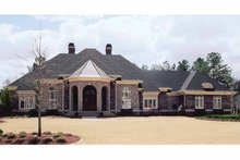 Country Exterior - Front Elevation Plan #119-398