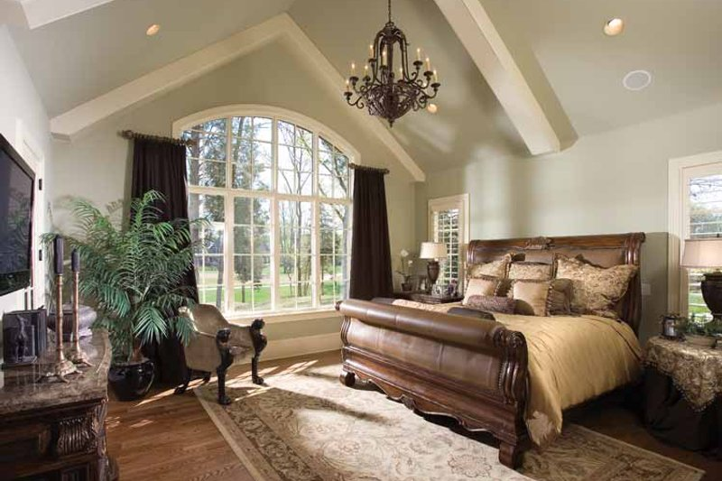 European Interior - Master Bedroom Plan #453-606 - Houseplans.com
