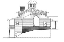 House Plan Design - Colonial Exterior - Other Elevation Plan #117-845