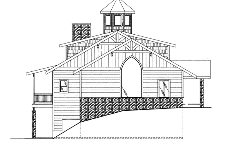 Colonial Exterior - Other Elevation Plan #117-845 - Houseplans.com