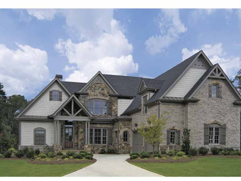Craftsman style house plan 4 beds 2 5 baths 3185 sq ft for E home plans