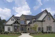 Architectural House Design - Craftsman Exterior - Front Elevation Plan #54-274