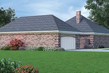 Dream House Plan - Country Exterior - Rear Elevation Plan #45-478
