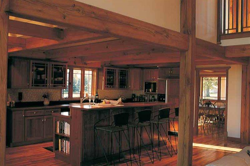 Craftsman Interior - Kitchen Plan #1016-45 - Houseplans.com