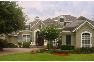 Traditional Exterior - Front Elevation Plan #135-209