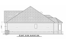 Home Plan Design - Right Side Elevation