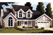 Dream House Plan - Country Exterior - Front Elevation Plan #3-235