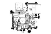 Colonial Style House Plan - 3 Beds 2.5 Baths 2369 Sq/Ft Plan #310-717 Floor Plan - Main Floor