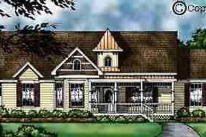 House Design - Country Exterior - Front Elevation Plan #40-113