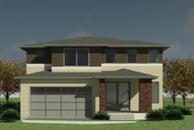 House Design - Contemporary Exterior - Front Elevation Plan #1066-131