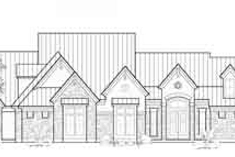 Traditional Exterior - Front Elevation Plan #61-329 - Houseplans.com