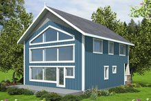 House Plan Design - Country Exterior - Front Elevation Plan #117-902