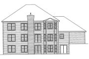 Southern Style House Plan - 3 Beds 3 Baths 2726 Sq/Ft Plan #31-131 Exterior - Rear Elevation