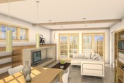 Traditional Style House Plan - 3 Beds 2.5 Baths 1694 Sq/Ft Plan #497-38 Interior - Other