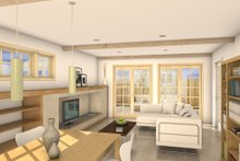 Traditional Interior - Other Plan #497-38