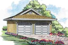 Traditional Exterior - Front Elevation Plan #47-643