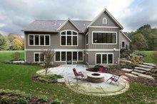 Craftsman Exterior - Rear Elevation Plan #928-318