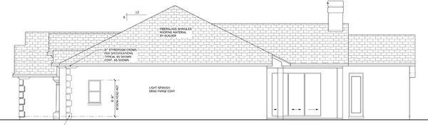 Mediterranean Floor Plan - Other Floor Plan Plan #1058-44