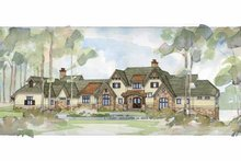 Architectural House Design - Country Exterior - Front Elevation Plan #928-24