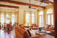 Home Plan - Mediterranean Interior - Family Room Plan #1058-14