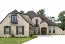 Architectural House Design - Contemporary Exterior - Front Elevation Plan #11-273