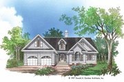 Traditional Style House Plan - 3 Beds 2 Baths 1542 Sq/Ft Plan #929-363 Exterior - Front Elevation