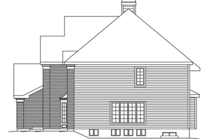 European Exterior - Other Elevation Plan #57-136 - Houseplans.com