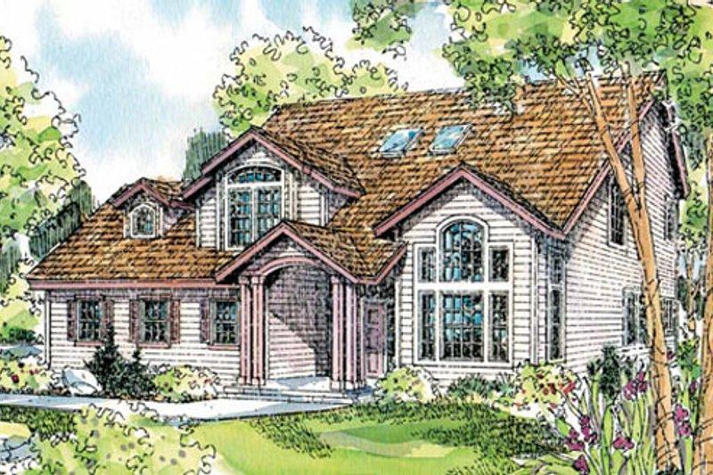 Modern Exterior - Front Elevation Plan #124-714